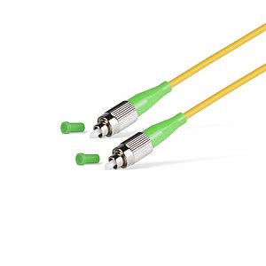 Патч Корд Оптоволоконный FC/APC-FC/APC SM 9/125 Simplex 3.0мм 2 м