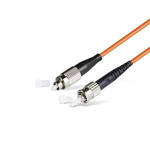 Патч Корд Оптоволоконный FC/UPC-ST/UPC MM OM1 62.5/125 Simplex 3.0мм 1 м