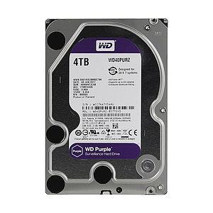 Жёсткий диск для видеонаблюдения Western Digital Purple HDD 4Tb WD40PURZ