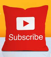 Подушка декоративная Subscribe