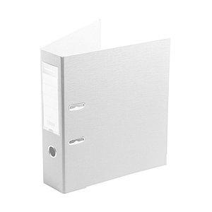 "Папка–регистратор Deluxe с арочным механизмом, Office 3-WT17 (3"" WHITE), А4, 70 мм, белый"