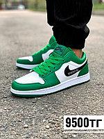 Кеды nike jordan низк бело зеленые 09, фото 1