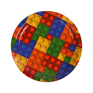 Тарелка праздничная 1502-4313 (6 шт. в пакете)