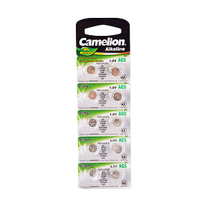 Батарейка CAMELION Alkaline AG5-BP10(0%Hg) 10 шт. в блистере