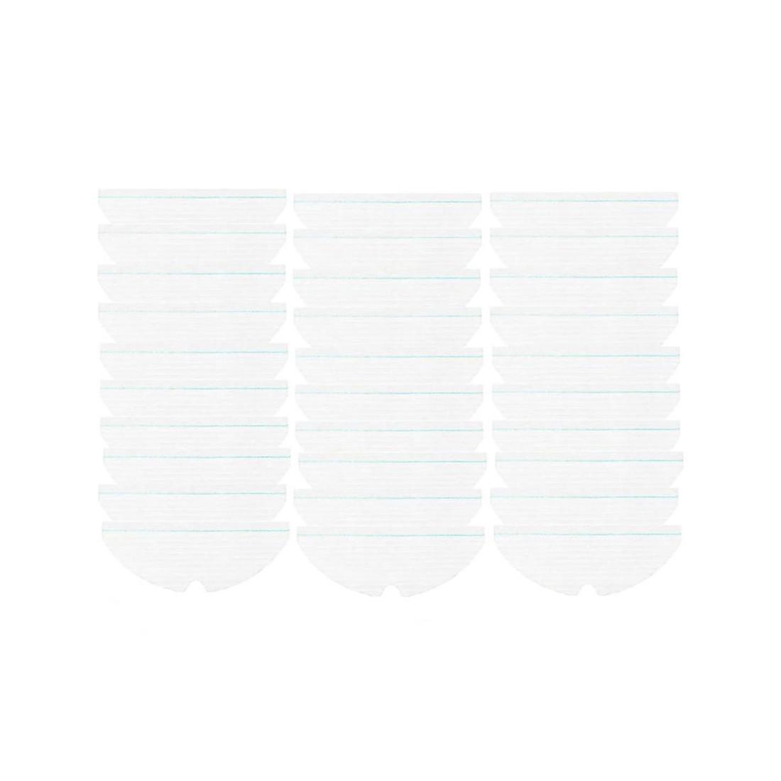 Насадки одноразовые для влажной уборки для робота-пылесоса Roborock (30 шт в комплекте)
