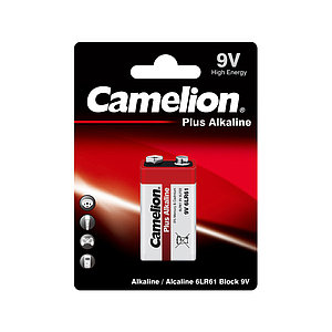 Батарейка CAMELION Plus Alkaline 6LR61-BP1