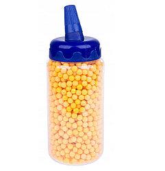 Пульки пластиковые 6 мм., в банке, 2000 шт