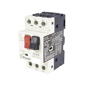 Автомат защиты двигателя iPower GV2-M10 (4-6.3A)