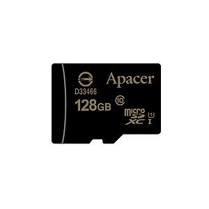 Карта памяти Apacer AP128GMCSX10U1-R 128GB + адаптер