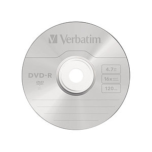 Диск DVD-R Verbatim (43548) 4.7GB 50штук Незаписанный