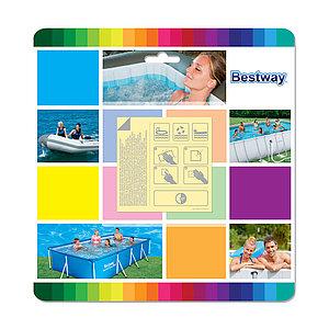 Набор для ремонта надувных изделий Bestway 62091 (в упаковке 10 шт заплаток)