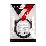 Интерфейсный кабель USB-Lightning SVC LHT-PV0120BK-P, 30В, Чёрный, Пол. пакет, 1.2 м, фото 2