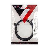 Интерфейсный кабель USB-Lightning SVC LHT-PV0120BK-P, 30В, Чёрный, Пол. пакет, 1.2 м, фото 3