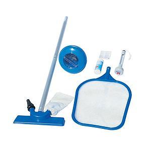 Набор для чистки бассейна Bestway 58195 (сачок, щетка, дозатор, термометр, тест-полоски, ремкомплект