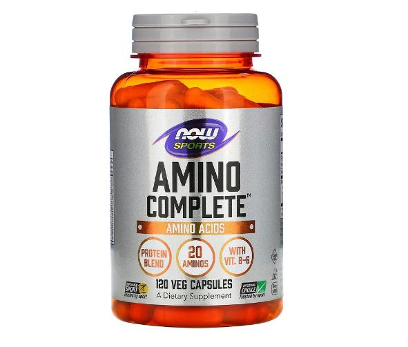 Now Foods, Amino Complete, аминокислотный комплекс, 120 вегетарианских капсул