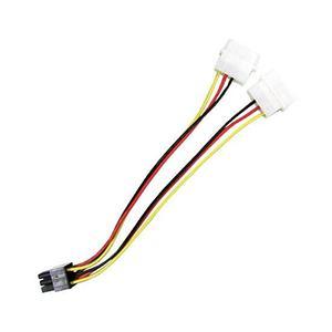Переходник Molex 4 pin x 2 шт. на 6 pin