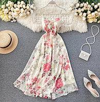 Женское шифоновое платье