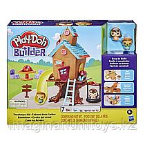 Набор игровой Play-Doh Builder Домик на дереве в 3D