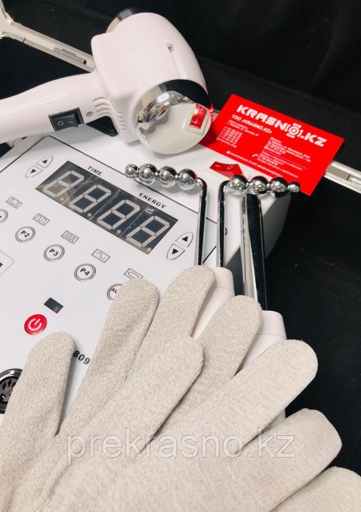 Аппарат микротоковой терапии с перчатками и криотермотерапия в кейсе - фото 2