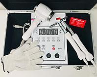 Аппарат микротоковой терапии с перчатками и криотермотерапия в кейсе