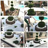 Галька садовая для дизайна в мешках, фото 4