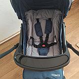 """Прогулочная коляска Tomix """"COSY"""" V2 (Dark blue), c Перекидной Ручкой, фото 4"""