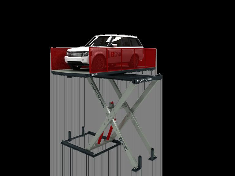 Поворотный лифт-подъемник ATLANT ROTARY гидравлический подъемник