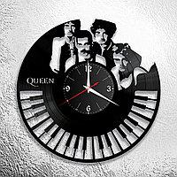 Часы из пластинки, группа Квин Фредди Меркьюри Queen Freddie Mercury, подарок фанатам, любителям, 0380