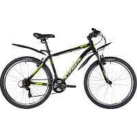 """Велосипед STINGER 26"""" CAIMAN черный, сталь, размер 18"""""""