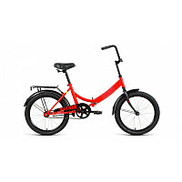 """Велосипед ALTAIR CITY 20 (20"""" 1 ск. рост 14"""" скл.) 2020-2021, красный/голубой, RBKT1YF01006 /"""