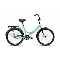"""Велосипед ALTAIR CITY 24 (24"""" 1 ск. рост 16"""" скл.) 2020-2021, мятный/серый, RBKT1YF41006"""