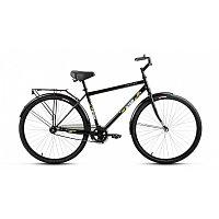 "Велосипед ALTAIR CITY 28 high (28"" 1 ск. рост 19"") 2020-2021, темно-серый/серебристый, RBKT1YN81004"