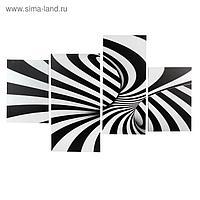 """Картина модульная на подрамнике """"Абстракция"""" 2-30х45,1-30х69,1-34х69; 80*130 см"""