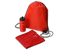 Спортивный набор Simple wind, красный, XL