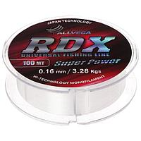 Леска Allvega RDX universal 0,16, 100 м