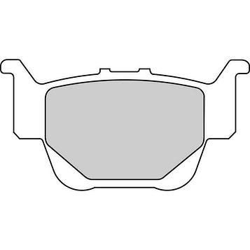 Колодки тормозные дисковые, 2 шт, FDB2182SG