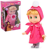 Интерактивная кукла «Маша», рассказывает стихи, потешки, поёт песенку, 25 см