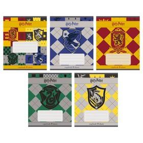 Тетрадь 18 листoв в клетку 'Гарри Поттер', мелованный картон, микс (комплект из 20 шт.) - фото 1