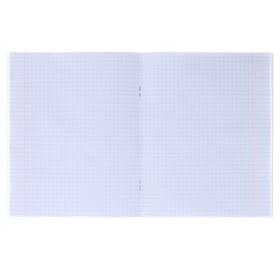 Тетрадь 36 листов в клетку 'Единорог', УФ-лак, офсет, картонная обложка, микс (комплект из 5 шт.) - фото 2