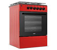 Газ плита Shivaki Apetito50-10E красный