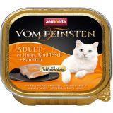 Animonda 100г с курицей, говядиной и морковью консервы для кошек Vom Feinsten Adult