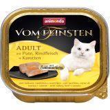 Animonda 100г с индейкой, говядиной и морковью консервы для кошек Vom Feinsten Adult