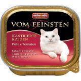 Animonda 100г с индейкой и томатами Консервы  для стерилизованных кошек Vom Feinsten For Castrated Cats