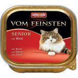 Animonda 100г с говядиной Консервы для кошек старше 7 лет Vom Feinsten Senior Cat