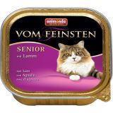 Animonda 100г с ягненком Консервы для кошек старше 7 лет Vom Feinsten Senior Cat