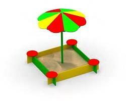 Песочница Капитошка с зонтом