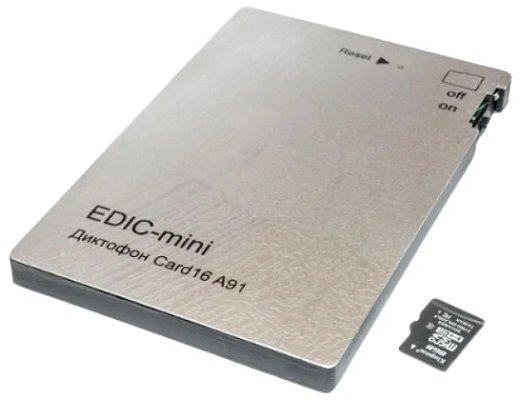 Диктофон EDIC-mini Card16 A91 - фото 3