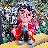 Керамическая копилка Волшебник с совой