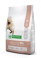 243058 Nature s Protection Mini Junior Poultry, корм для щенков маленьких пород, уп.500 гр.