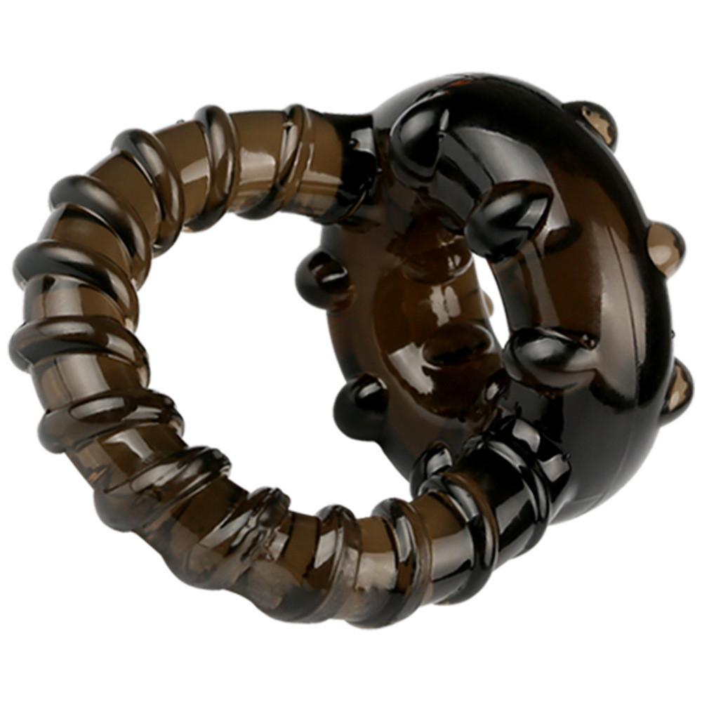 Эрекционное вибро-кольцо с петлей.